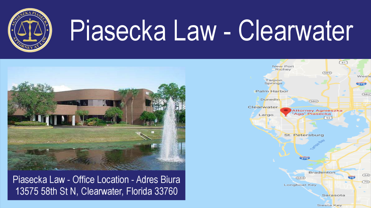 Piasecka Law 727-538-4171 - Clearwater