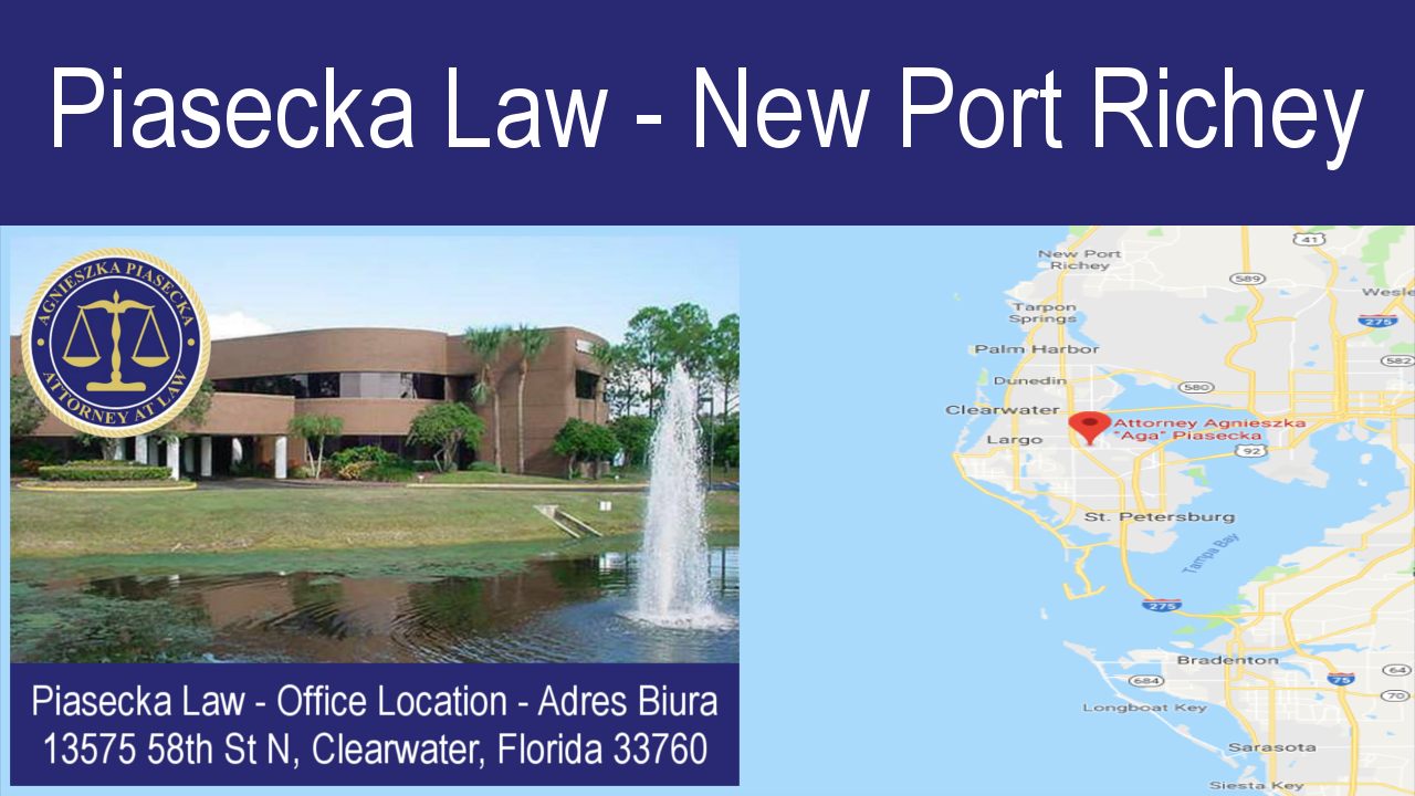 Piasecka Law - Serving New Port Richey