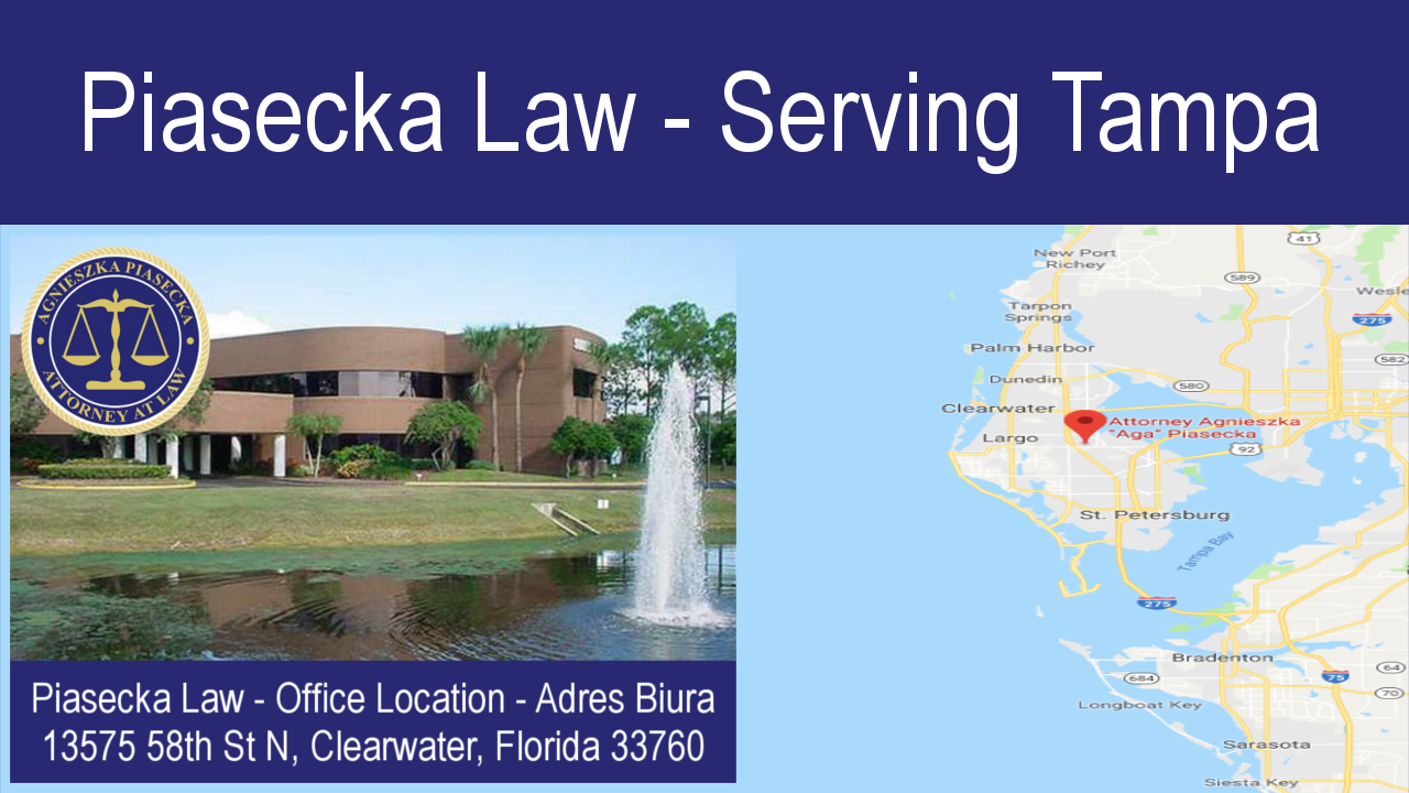 Piasecka Law - Serving Tampa