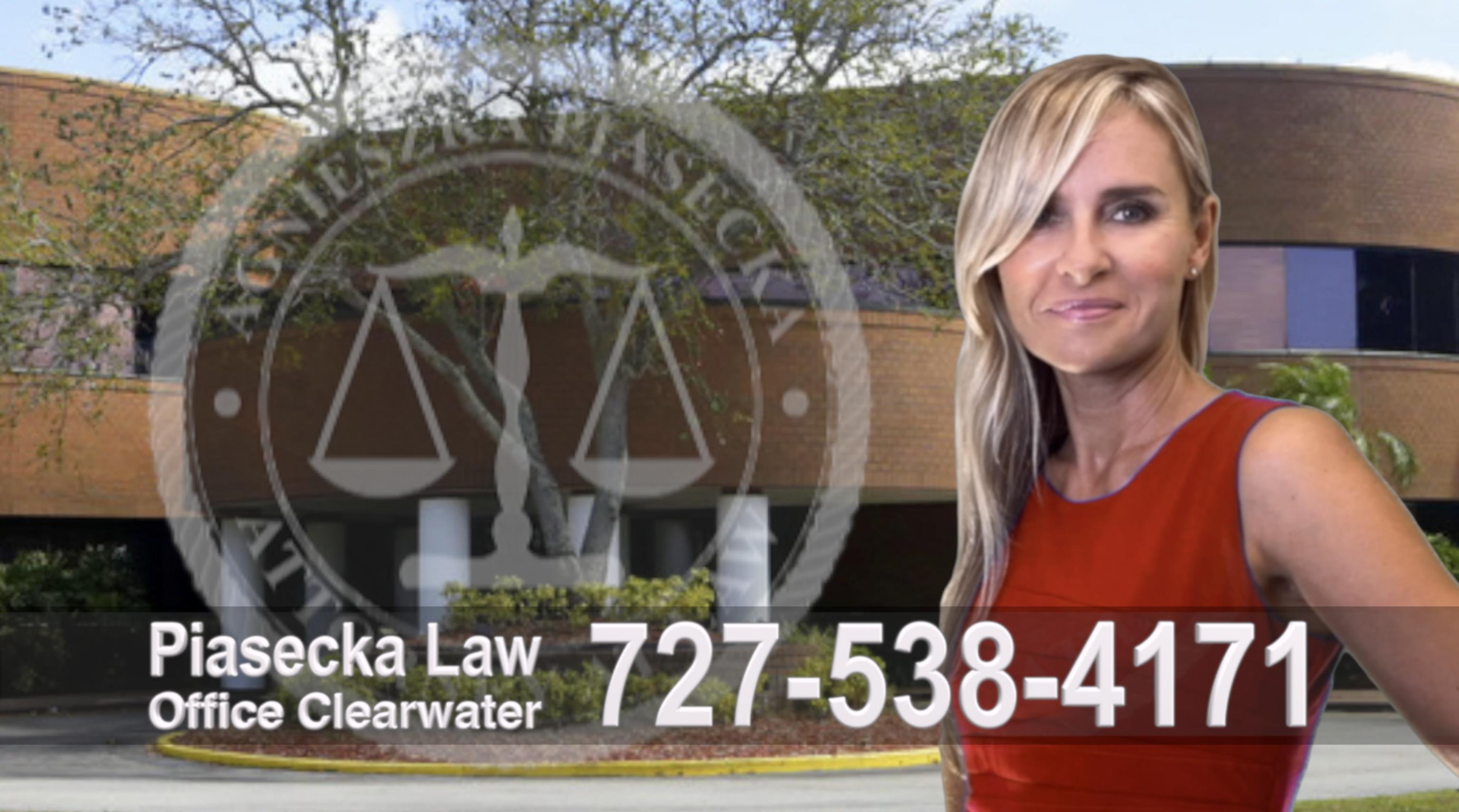 New Port Richey Polski Prawnik, Attorney, Lawyer, Polish, Agnieszka Piasecka, Aga Piasecka, Clearwater, Florida, Office address
