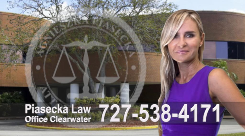 Sarasota, Attorney, Lawyer, Polish, Agnieszka Piasecka, Aga Piasecka, Clearwater, Florida, Office address 3