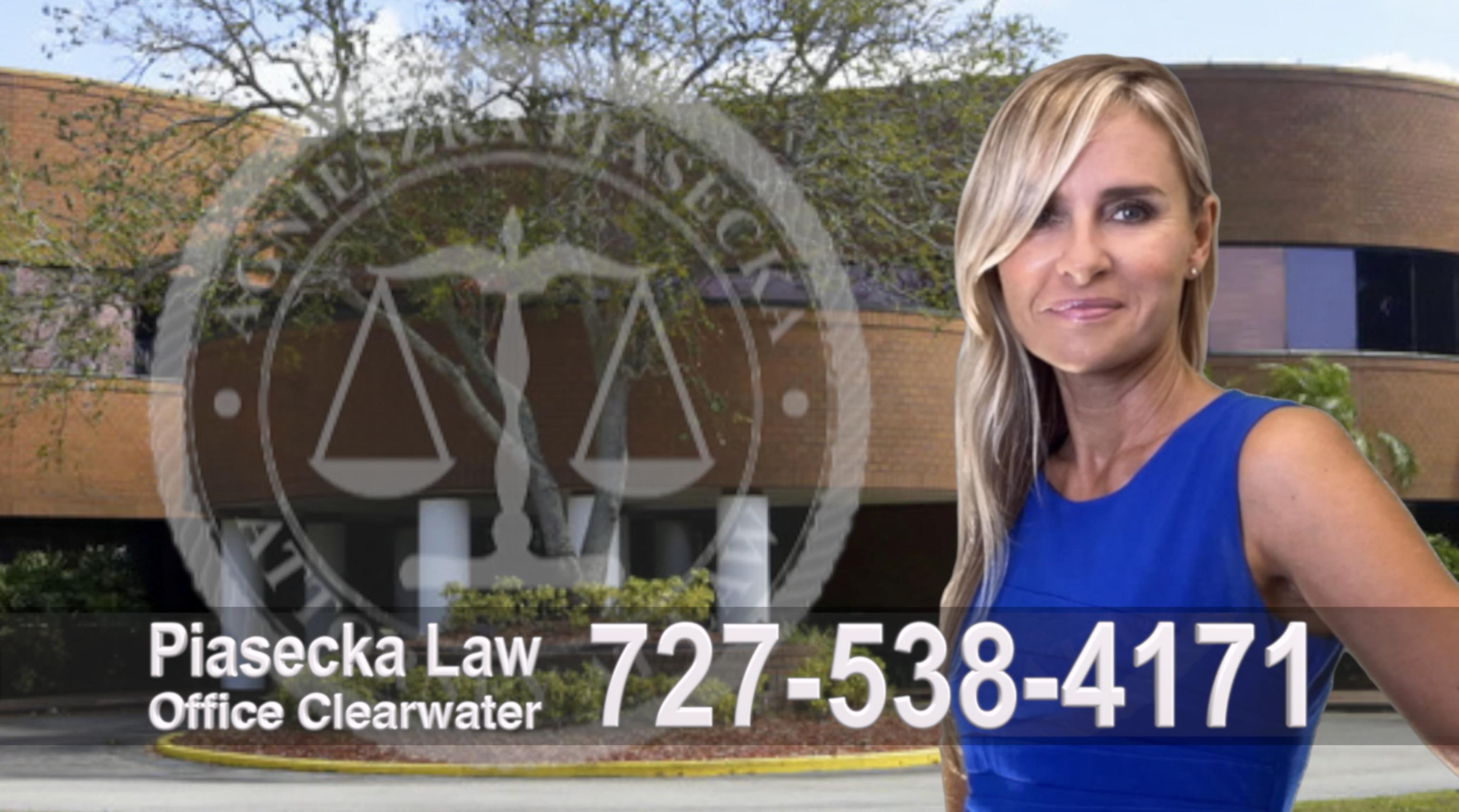 Polski Adwokat Imigracyjny Emigracyjny Clearwater, Attorney, Lawyer, Polish, Agnieszka Piasecka, Aga Piasecka, Clearwater, Florida, Office address 3